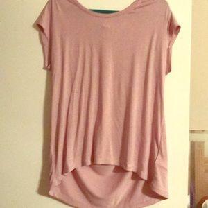 Gap Lilac Short Sleeve Tunic